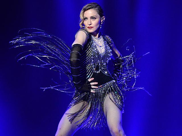 Madonna linda na estreia de Rebel Heart    Créditos: Getty Images