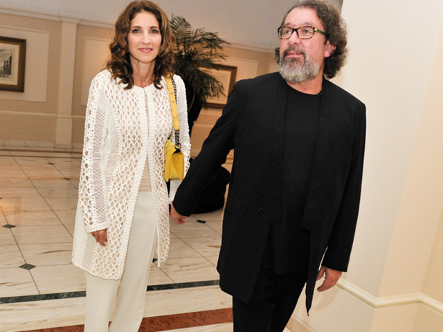 Valeria Vieira e o marido Kakay  ||  Créditos: Paulo Freitas
