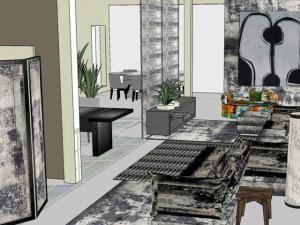 Lá em Casa: o bureau de estamparia de Rita Lessa. Cool!