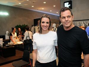 Rodrigo Trussardi e Camila Moura inauguram Super Suite 77 no Iguatemi