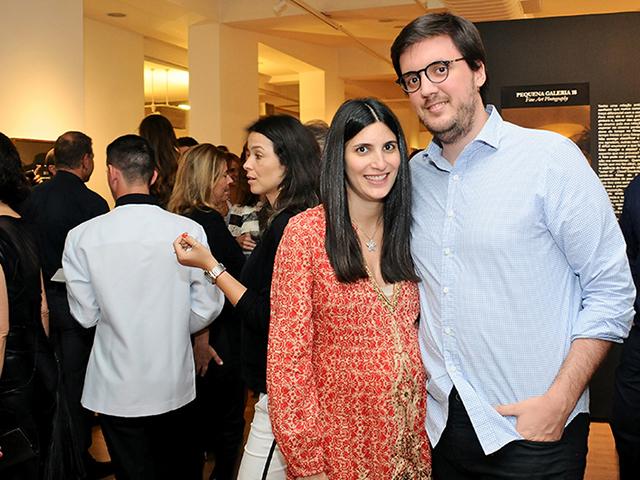 O casal Duda Derani e Pepeu Correa comemoram a chegada de Georgina  ||  Créditos: Bruna Guerra