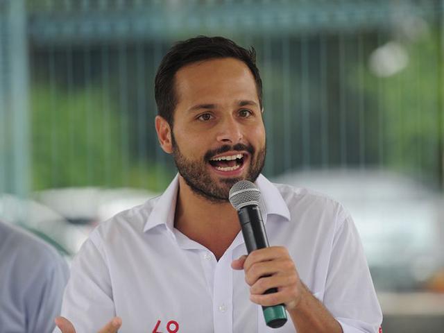 O Secretário de Cultura Marcelo Calero