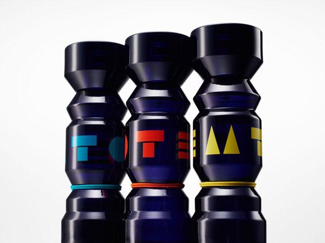 """Nova linha de perfumes """"Totem"""" da Kenzo, criada em parceria com o artista nendo"""
