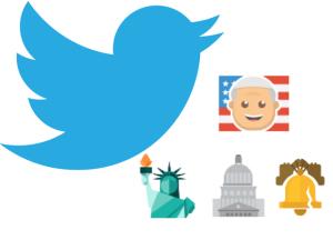Twitter ganha novos emojis para celebrar a visita do papa aos EUA