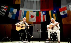 Show Caetano e Gil, no Rio: de Fernandona a Gianecchini cantando junto