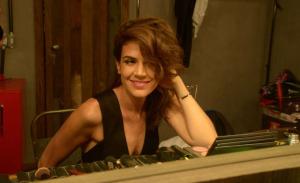 Carolina Dieckmann marca presença no show de Mariana Aydar no Rio