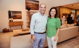 O lançamento da nova coleção da Olho Móveis em São Paulo