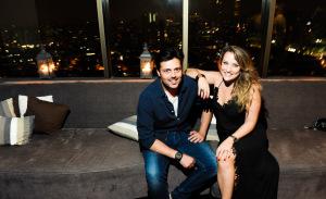Sandro Matarazzo e Clécia Simões Ribeiro comemoram aniversário em São Paulo