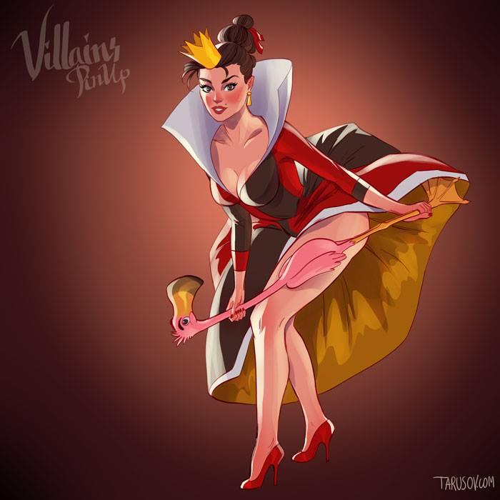 """Rainha Vermelha de """"Alice no País das Maravilhas"""""""