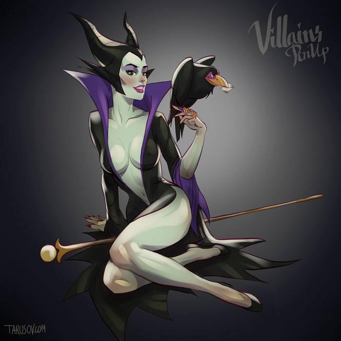 """Maleficent de """"A Bela Adormecida"""""""