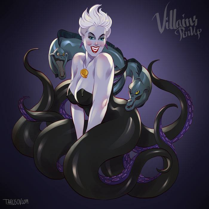 "Ursula de ""A Pequena Sereia"""