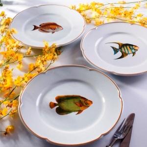 Mergulhe no fundo do mar com a coleção Peixes de Tania Bulhões