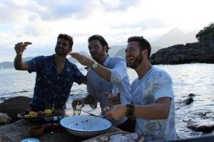 """Baume & Mercier comemora nova temporada de """"Homens Gourmet"""""""
