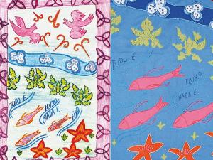 Criações da artista Rute Casoy causam burburinho no Rio