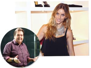 Marina Sanvicente é a nova stylist de Faustão