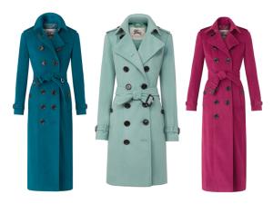 Desejo do Dia: os clássicos trench coats Burberry agora de cashmere