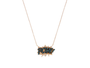 Desejo do Dia:  diamantes, safira e pop art na joia de Diane Kordas