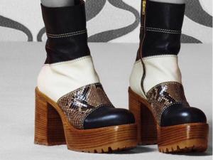 Desejo do Dia: o patchwork das ankle boots plataforma Marni