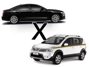 Disputa Uber X táxis chega à semana de moda paulistana