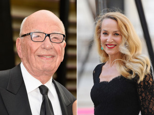 Rupert Murdoch e Jerry Hall devem assumir namoro neste sábado
