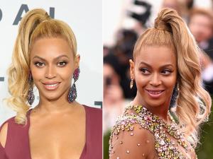 O rabo de cavalo do tipo adolescente de Beyoncé