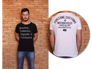 Barbearia Corleone apresenta linha de camisetas exclusivas. Vem saber!