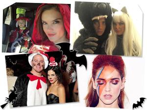De Frankenstein a David Bowie, os looks dos famosos para curtir o Halloween