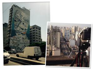 """Minhocão vai ganhar novo mural """"patrocinado"""" pelo carro do artista"""