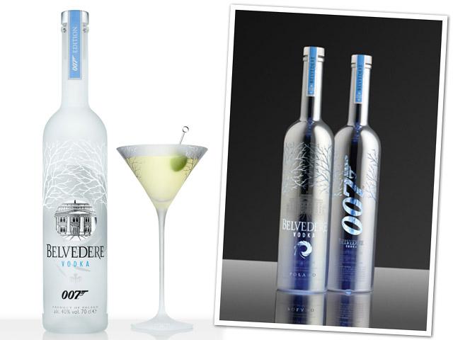 Novas garrafas Belvedere inspiradas em James Bond