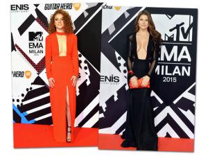 Decote quadrado é tendência no EMA 2015, premiação da MTV europeia