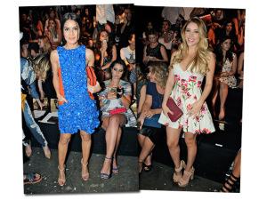 Blogueiras superstar entregam suas mega produções para a semana de moda