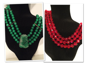 O estilo de Frida Kahlo nos colares da joalheira Luisa Botter, vem!