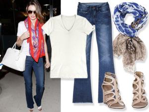 Back to basics! Look cheio de charme com Miranda Kerr em Nova York