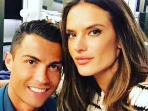 Alessandra Ambrósio faz mistério em encontro com Cristiano Ronaldo