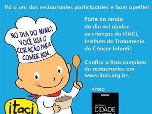 """Confira a lista dos restaurantes que estão participando do """"Dia do Nino"""""""