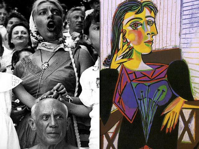 Dora Maar, um dos vários affairs de Picasso