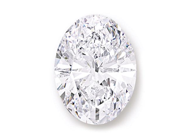 O diamante The D Flawless    Créditos: Divulgação