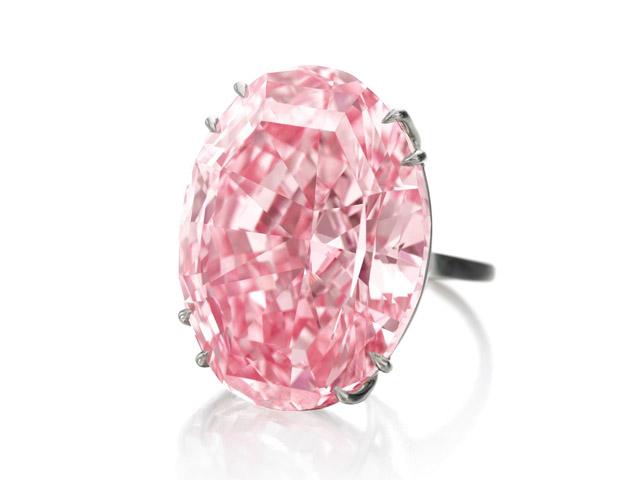 O diamante rosa Pink Star    Créditos: Divulgação