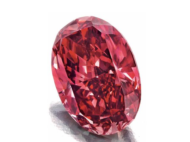 914be9b7c8c O diamante vermelho Fancy Red VS2