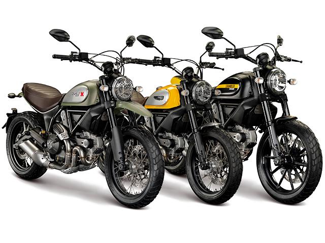 Os lançamentos da Ducati  ||  Créditos: Divulgação