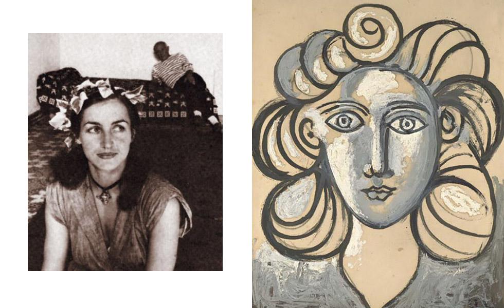 Françoise Gilot era estudante de direito até 1943, quando conheceu Picasso e largou os estudos para viver ao lado do artista. Os dois tiveram dois filhos: Claude e Paloma. Porém, os casos de Picasso com outras mulheres e sua natureza abusiva fizeram com que os dois se separassem em 1953