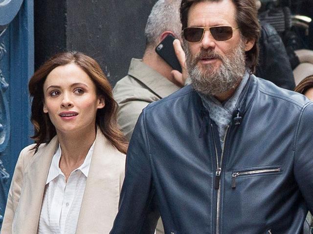 Cathriona White e Jim Carrey