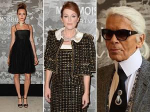Chanel reúne mundo fashion em abertura de exposição em Londres
