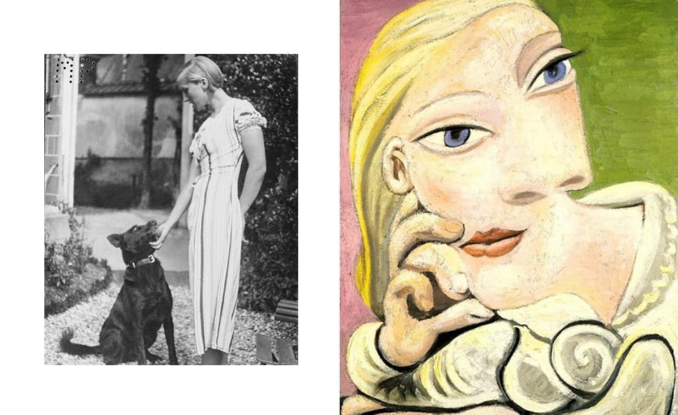 O caso de Picasso com Marie-Therérèse Walter começou em 1927 quando ele ainda era casado com Olga. Marie tinha apenas 17 anos, enquanto Picasso tinha 46. O affair ficou em segredo por oito anos e gerou Maya em 1935, primeira filha do artista. Os dois se separaram em 1936