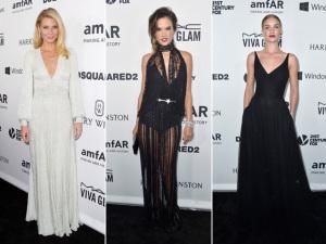 Gwyneth Paltrow, Alessandra Ambrósio e mais no gala da amfAR