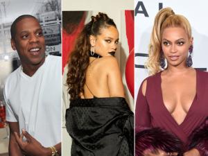 Ai, ai! Livro sugere que Jay Z teve um caso com Rihanna em 2005