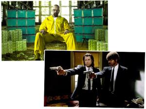 """Sabia que """"Pulp Fiction"""" e """"Breaking Bad"""" têm suas semelhanças?"""
