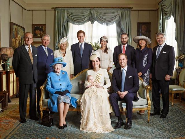 Família real britânica    Créditos: Divulgação