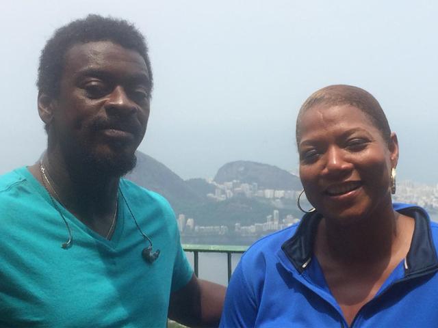 Queen Latifah e Seu Jorge no Rio