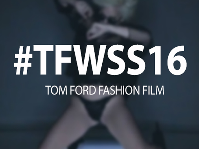 Tom Ford lança fashion film com Lady Gaga no vocal. Play!